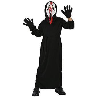 Pour enfants costumes costume garçon Scream enfants avec du sang