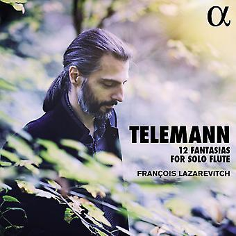 Telemann / Lazarevitch, Francois - Telemann: 12 Fantasias for Solo [DVD] USA import
