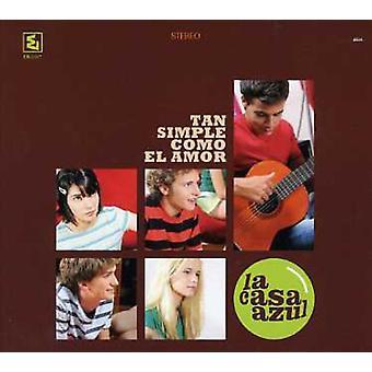 La Casa Azul - Tan Simple Como El Amor [CD] USA import