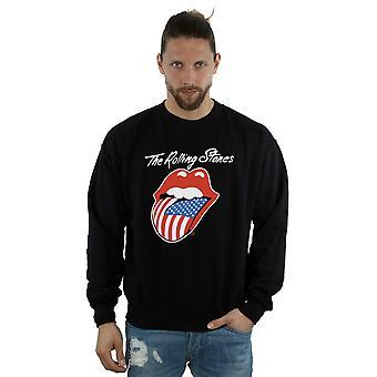 Rolling Stones Men's American Tongue Sweatshirt