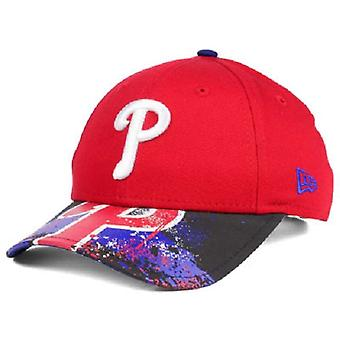 Philadelphia Phillies MLB nuova Era 9Twenty Splatter di snapback