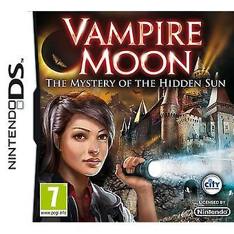 Vampyr månen mysteriet med den dolda solen (Nintendo DS)-ny