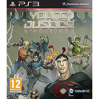 Young Justice Legacy (PS3) - Novo