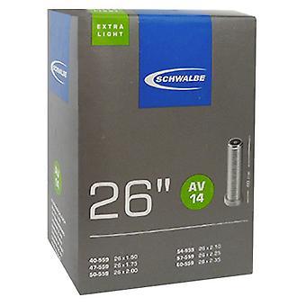SCHWALBE AV 14 extra lightweight bicycle tubing 26″