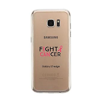 Fight Cancer I Can Clear Phone Case