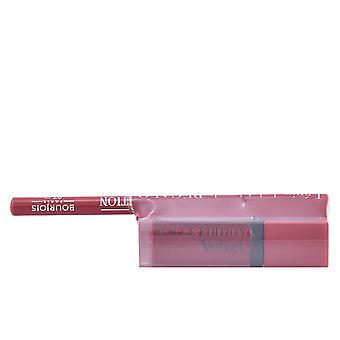 Bourjois Rouge Edition fløjl læbestift #15 + Contour Lipliner #7 gratis for kvinder