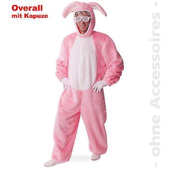 Grace Bunny pinkki pupu jumpsuit kani sopivat pääsiäinen pupu kani unisex puku