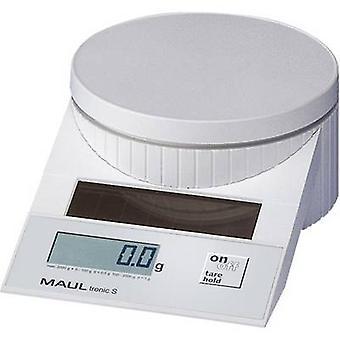 Variam de Moraes Gomes MAULtronic S 2000 carta balanças peso 2kg legibilidade 0,5 g branco