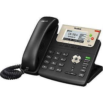 Yealink SIP-T23G Corded VoIP Headset connection, Hands-free Colour TFT/LCD Black
