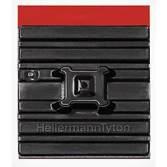 HellermannTyton FMB4APT-I-PA66HS-BK Cable mount Self-adhesive 151-01527 flexible base, 4x thread Black 1 pc(s)
