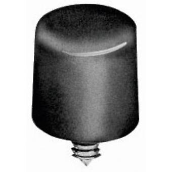 NKK Switches AT413A Screw cap Black Compatible with (details) Pushbutton 8.5 mm