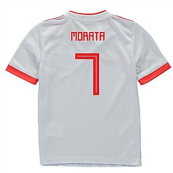 2018-2019 España Away Adidas Mini Kit (Morata 7)