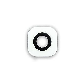 Äkta vit Samsung Galaxy S6 kameralinsen