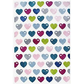 Carpet Bedroom Hearts 120x180cm