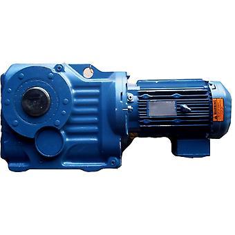 SEW 欧洲驱动器 KA87TDRE100L4 3HP 126.91 比率 230/460V 1735RPM 减速齿轮电机