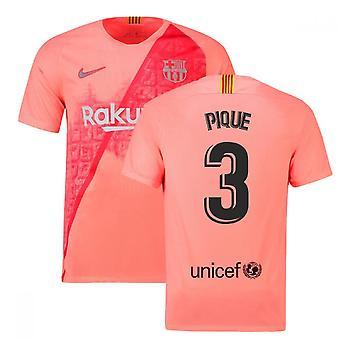 2018-2019 Barcelona trzeci koszulka piłkarska Nike (Pique 3)