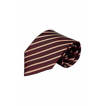 Brown tie Albano 01