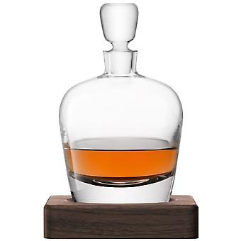 LSA internationale Whisky Arran Decanter op een Walnut Base - 1L