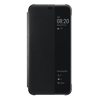 Huawei Mate 20 Lite Flip View Book Case Original Black