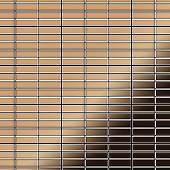 Kovová mozaika titanová kabina-ti-AM