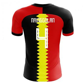 2020-2021 Belgium Flag Concept Football Shirt (Nainggolan 4)