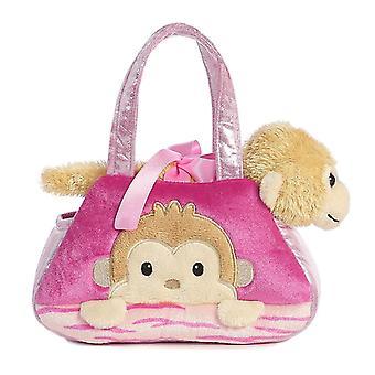 Fancy Pals Peek-A-Boo Monkey 7 Inch Pet Carrier