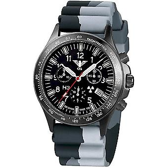 השעון השחור של שעונים מחלקה שחור טיטאן הכרונוגרף-סיקים. . אני מבין. DC1