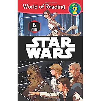 Wereld van het lezen van Star Wars Boxed Set: niveau 2