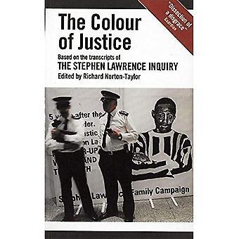 A cor da Justiça (livros de Oberon) (Oberon Books)