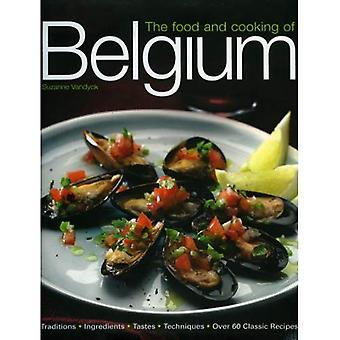 The Food and Cooking of Belgium: Traditions, Ingredients, Tastes and Techniques in Over 60 Classic Recipes (Aquamarine)