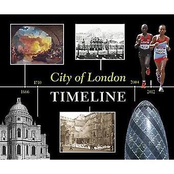 City of London Timeline von Sara Pink