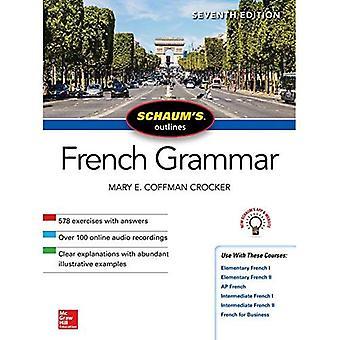 Schaum de omtrek van de Franse grammatica, zevende editie