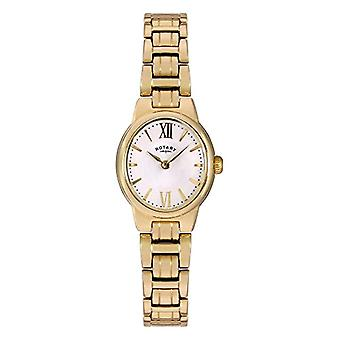 Rotary LB02748/01 Analog wristwatches, female, stainless steel bracelet, gold