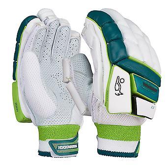 Kookaburra 2019 Kahuna 2.0 Cricket battuta guanti bianco/verde
