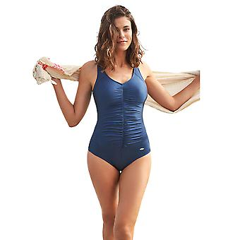 Baddräkt Susa 4193-170 kvinnors grundläggande blå kostym en