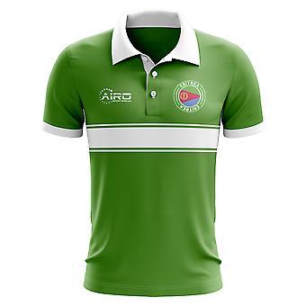 إريتريا مفهوم قميص البولو Stripe (الأخضر)
