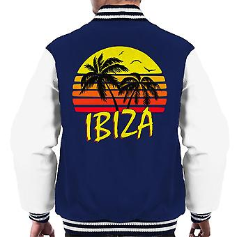 Ibiza Vintage Sun mäns Varsity jacka