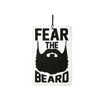 Angst vor der Bart-Auto-Lufterfrischer