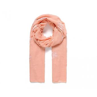 Intrigue Womens/Ladies Blossom Embroidered Scarf