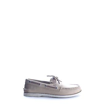 Sperry Ezbc285005 Men's Beige Leather Loafers