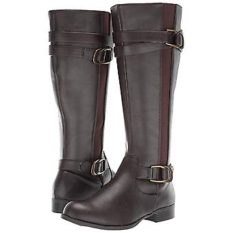 LifeStride Womens Fantastic Leather Closed Toe Over Knee Riding Boots