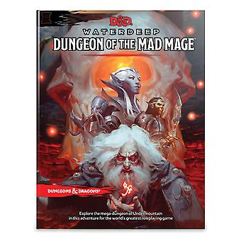 D&D Waterdeep Dungeon of the Mad Mage Book