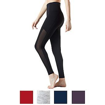 TSLA Tesla FYP56 naisten korkea-Kavennut Ultra-Stretch vatsan ohjaus jooga housut