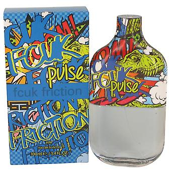 Fcuk friction pulse eau de toilette spray by french connection 535943 100 ml