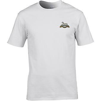 3rd Kings Own Hussars KOH-licenseret British Army broderet Premium T-shirt