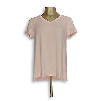 H by Halston naiset ' s Top Essentials V-kaula ylhäältä eteenpäin vaaleanpunainen A306231
