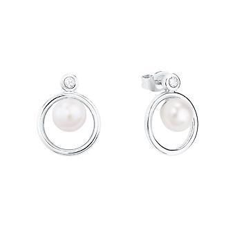 s.Oliver Jewel Women's Earrings Studs Silver Zirconia 2026080