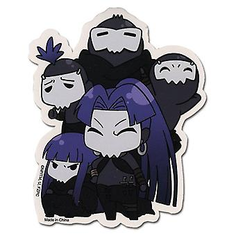 Sticker - Fate/Zero - New SD Assasin Toys Gifts Anime Licensed ge55116