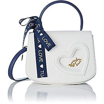BRACCIALINS YOUR by Love White Women's Shoulder Bag 21x16x99.5 cm (W x H x L)