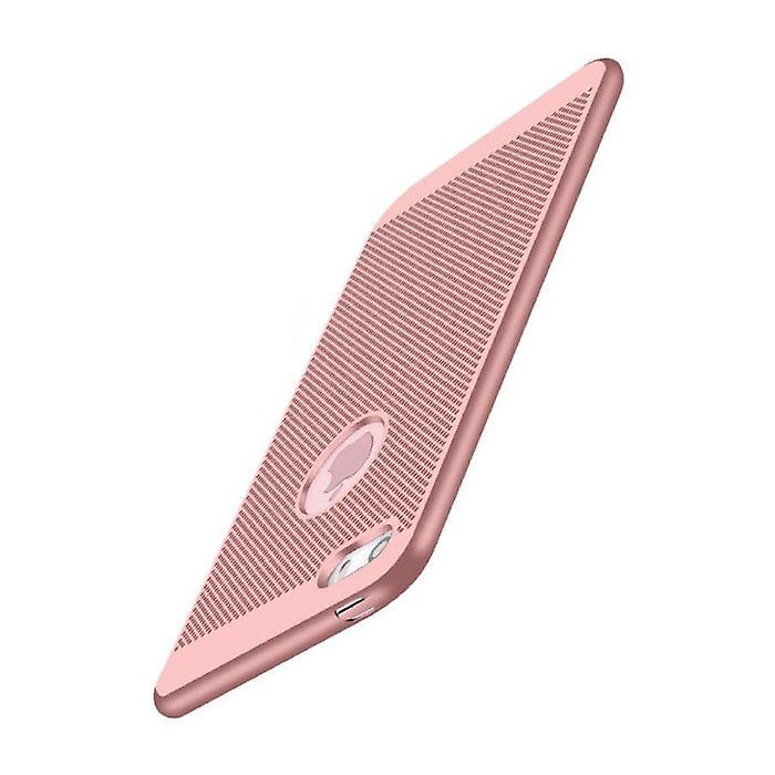 Stuff Certified® iPhone 5S - Ultra Slim Case Heat Dissipation Cover Cas Case Rose Gold